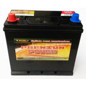Batteria auto PREMIUM POWER 45 Ah spunto 400A polo positivo Sinistra B24 238x129x225