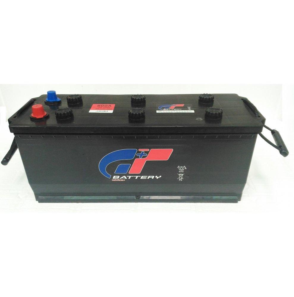 Batteria autocarro GT 120 Ah spunto 800A polo positivo destra sinistra MAC 505x183x233