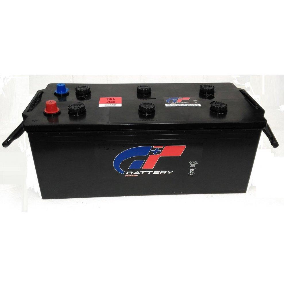 Batteria autocarro GT 160 Ah spunto 950A polo positivo destra B 512x220x220