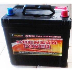 Batteria auto PREMIUM POWER 60 Ah spunto 500A polo positivo Destra 232x173x225