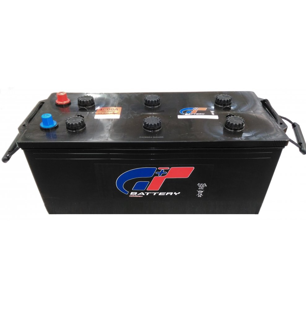 Batteria autocarro GT 180 Ah spunto 1000A polo positivo sinistra B 512x220x220