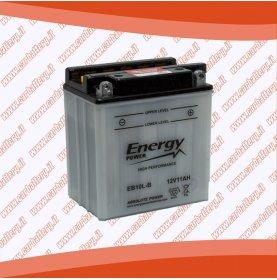 Batteria moto YB10L-B ENERGY POWER 11 Ah polo positivo destra sinistra 135x90x145