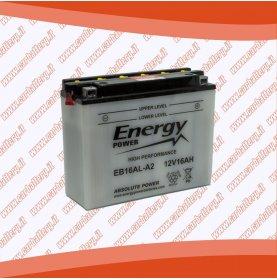 Batteria moto YB16AL-A2 ENERGY POWER 16 Ah polo positivo sinistra 205x70x162