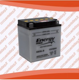 Batteria moto YB30L-B ENERGY POWER 30 Ah polo positivo destra 168x132x176