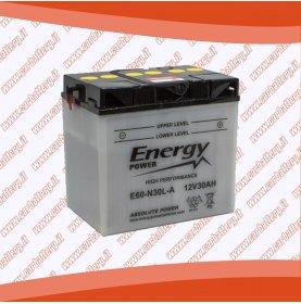 Batteria moto Y60-N30L-A ENERGY POWER 30 Ah polo positivo destra 187x130x170