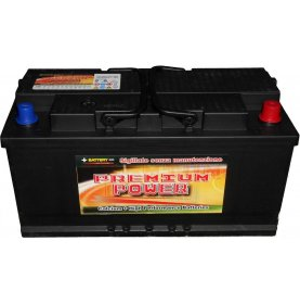 Batteria auto PREMIUM POWER 110 Ah spunto 850A polo positivo destra L5 354x175x190