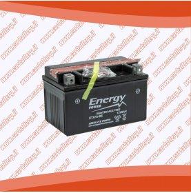 Batteria moto YTX7A-BS ENERGY POWER 6 Ah sigillata con acido polo positivo sinistra 151x87x93