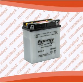 Batteria moto YB5L-B ENERGY POWER 5 Ah polo positivo destra 120x61x130