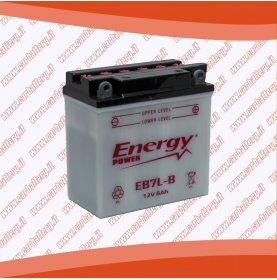 Batteria moto YB7L-B ENERGY POWER 8 Ah polo positivo destra sinistra 135x75x133