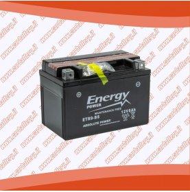 Batteria moto YTR9-BS ENERGY POWER 8 Ah sigillata con acido polo positivo sinistra 150x87x106