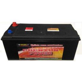 Batteria autocarro PREMIUM POWER 160 Ah spunto 900 polo positivo Sinistra B 512x220x220